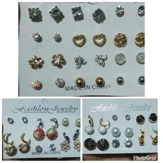 Silver/Gold Earring