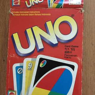 UNO family fun card games