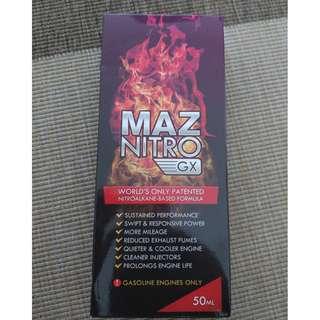 MAZ NITRO GX - Fuel Additive - Get EXTRA Power & Fuel Savings up to 59% - 3 x 50ml - Gasoline Engine