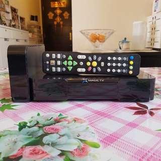 數碼機頂盒 可錄 雙Tunner Magic TV MTV3100D 2TB Hard Disk