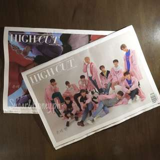 Wanna One x High Cut