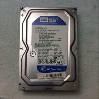 電腦硬盤320GB