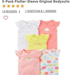 Original Carter 5 pack flutter sleeve