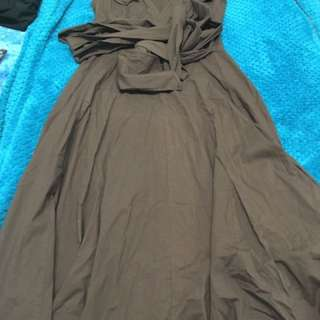 Blackout 12 brown dress