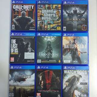 Cheap PS4 Games!