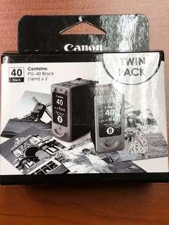 Canon Ink Cartridge PG-40 Black