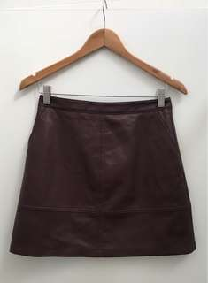 Forever new leather look skirt