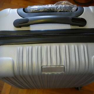 Silver Luggage Suitcase BN cabin size