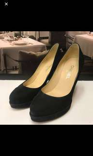 清貨Chanel Seude Leather High Heel