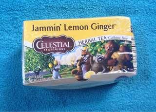 Jammin' Lemon Ginger (herbal tea)