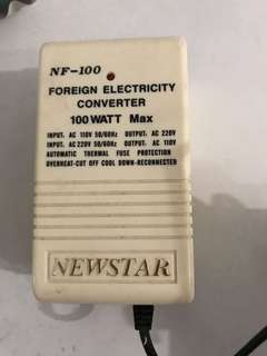 Foreign electricity converter
