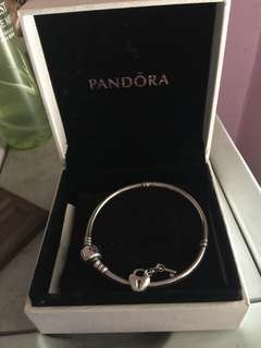 Pandora Bracelet with Charm (Authentic w/card)
