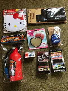 Japan car items