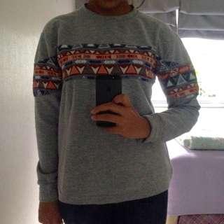 Tribal Semi Sweater