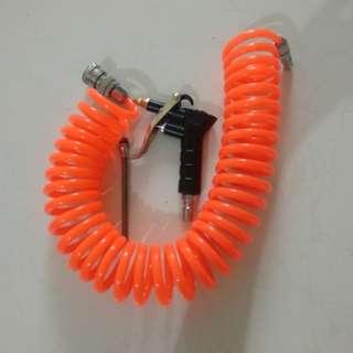 Air compressor PU recoil hose