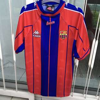 Kappa Barcelona Football Jersey