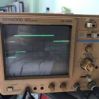 KENWOOD oscilloscope