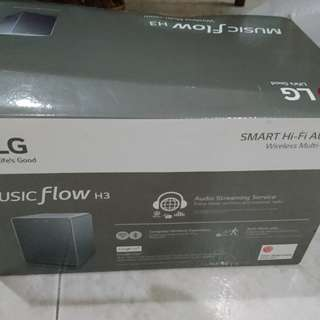 #reduced LG Audio Speaker Music Flow H3