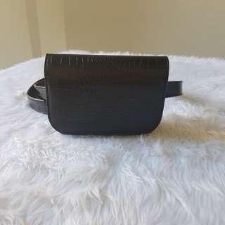 Croc Pattern Belt bag