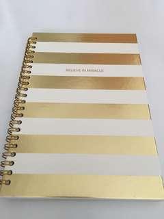 Notebook - Believe in Miracle