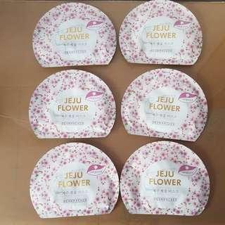 Premium Jeju cherry blossom mask