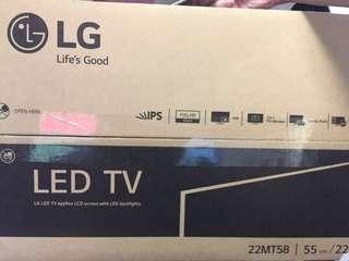 """LG 22"""" LED TV 22MT58 100%全新"""