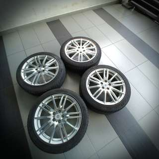 JAPAN WORK Arkline Sport Rims