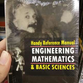 Handy Reference Manual Engineering Mathematics and Basic Sciences