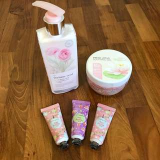 Branded Body Lotion & Hand Cream