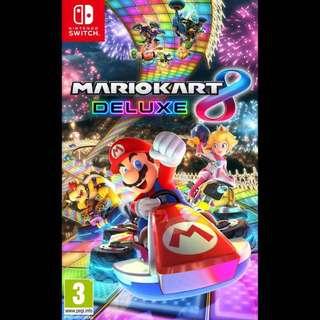 LF : Mario Kart 8 & Overcooked Nintendo Switch Games