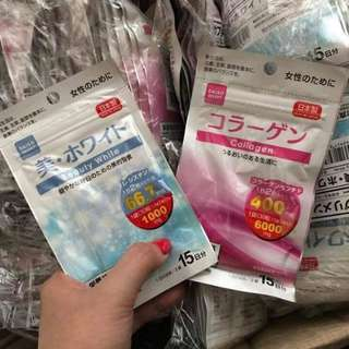 Cheapest Daiso Pair Anti Aging and Whitening
