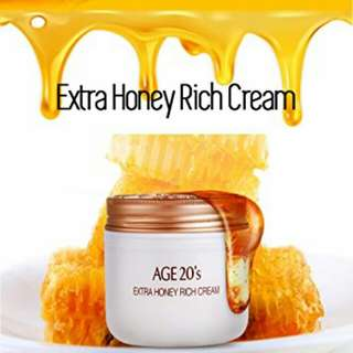 AGE 20's EXTRA HONEY RICH CREAM