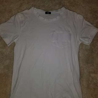 Onitsuka Tiger White Tee size Small.