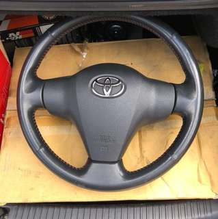 TOYOTA VIOS 2008 NCP93 ORIGINAL STEERING WHEEL