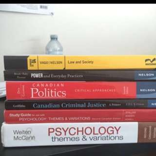 Couple of Textbooks [UTM Bought]