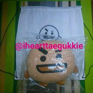 BTS BT21 SHOOKY 30 CM CUSHION