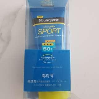 Neutrogena CoolDry Sport Sunscreen Lotion Broad Spectrum SPF 50