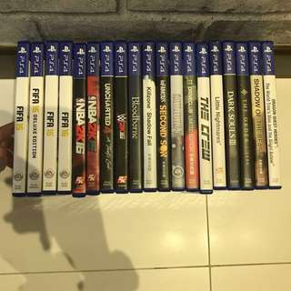 Selling New & Used PS4 Games