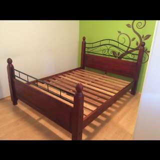 Queen size bed frame!! Unused