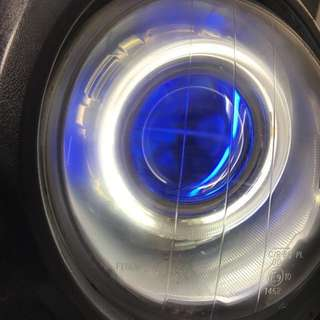 BWS 魚眼大燈 附HID