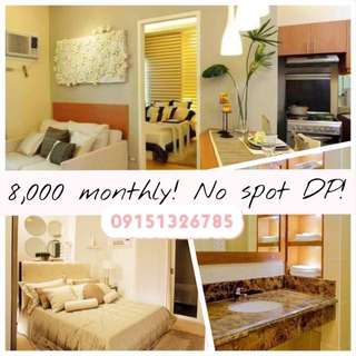 PROMO: 8,000/Monthly - NO SPOT CASH REQUIRED- BIGGER UNIT LAYOUT
