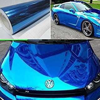 Car sticker wrap