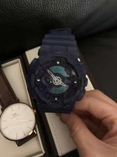 Casio Gshock Watch 藍色接近全新Blue and new