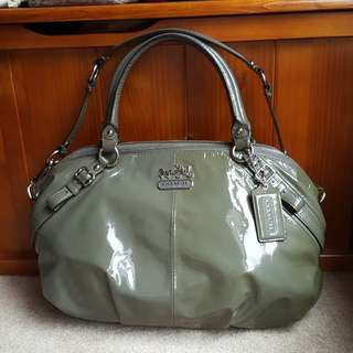 Coach Madison Patent Leather Bag