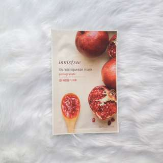 🍃 Authentic Innisfree It's Real Squeeze Mask