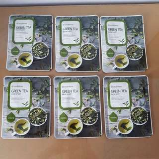 Korea SeaNTree green tea mask