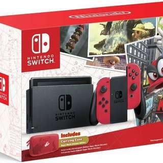 Mario Odyssey Nintendo Switch Bundle