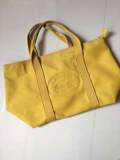 Lacoste Sling Bag (yellow) legit 💯