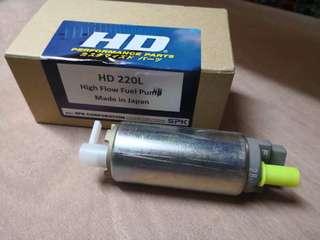 Original japan HD 220L high flow fuel pump