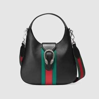 gucci dionysus hobo leather